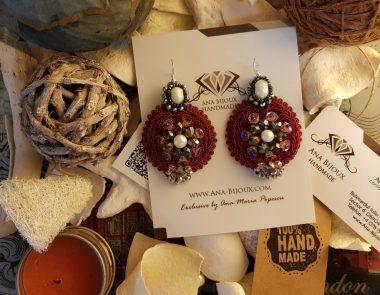 20171126_184400 Ana Bijoux - Ana Biju - Ana Handmade - Ana Maria Popescu - Ana Bijoux Group - Cercei Handmade Soutache