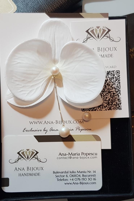 Celcel Orhidee Ana Bijoux Handmade